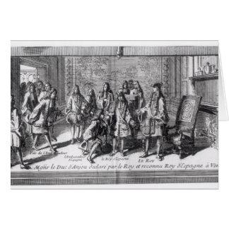 Philippe de France  Duke of Anjou Card
