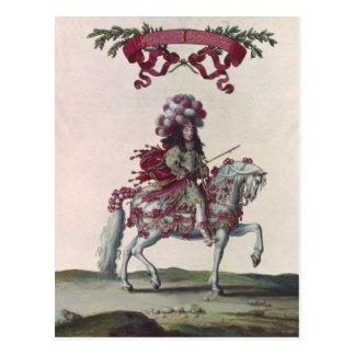 Philippe I  Duke of Orleans Postcard