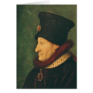 Philippe of France  Duke of Burgundy Card