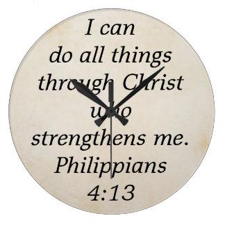 philippians 4:13 clocks