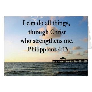 PHILIPPIANS 4:13 HOPE CARD