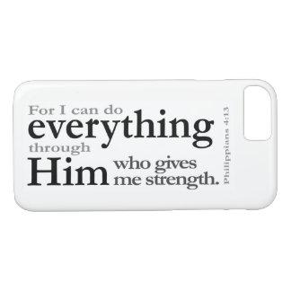 Philippians 4:13 iPhone 8/7 case