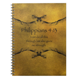 Philippians 4:13 notebooks