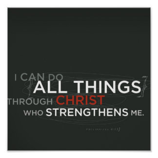 Philippians 4 13 print