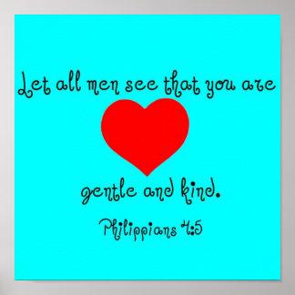 Philippians 4 5 print