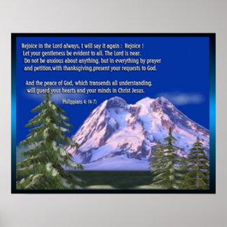 Philippians 4 scripture poster