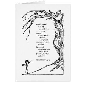 Philippians thank you card