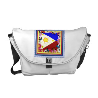 Philippine Flag Design – Filipino Messenger Bag
