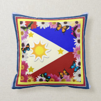 Philippine Flag – Filipino Design Pillow