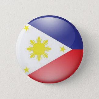 Philippine Flag (round) 6 Cm Round Badge