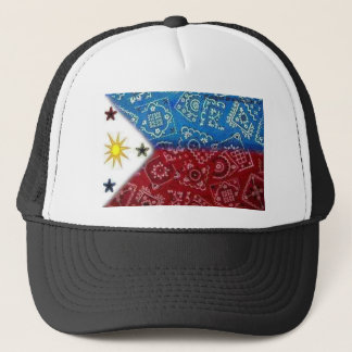 Philippine Flag Trucker Hat