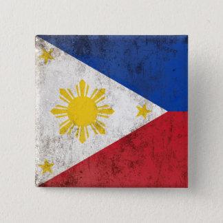Philippines 15 Cm Square Badge
