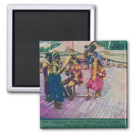 Philippines 1904 fridge magnets