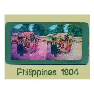 Philippines 1904 postcard