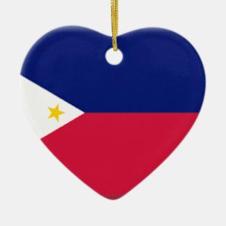 Philippines Ceramic Heart Decoration