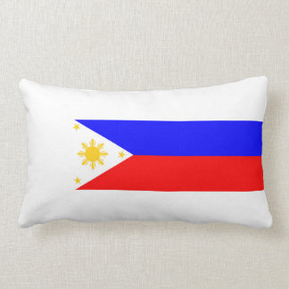 Philippines country flag nation symbol lumbar pillow