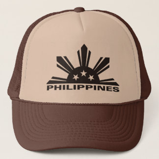 Philippines Custom Logo Trucker Hat