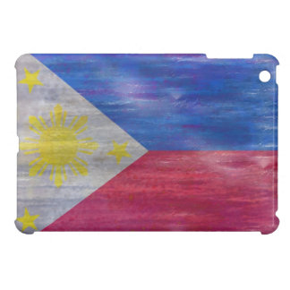 Philippines distressed Philippino flag iPad Mini Cover
