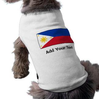 Philippines – Filipino Flag Sleeveless Dog Shirt