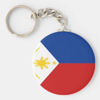 Philippines Fisheye Flag Keychain