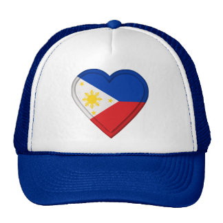 Philippines Flag Hats
