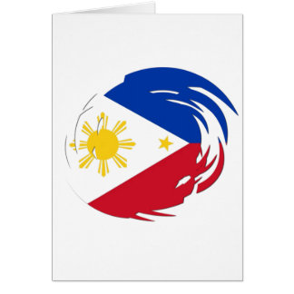 Philippines Flag Card