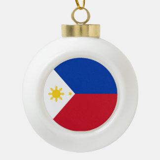 Philippines Flag Ceramic Ball Decoration