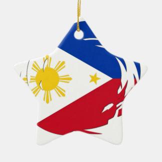 Philippines Flag Ceramic Star Decoration