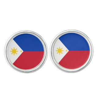 Philippines Flag Cuff Links
