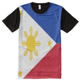 Philippines Flag full All-Over Print T-Shirt
