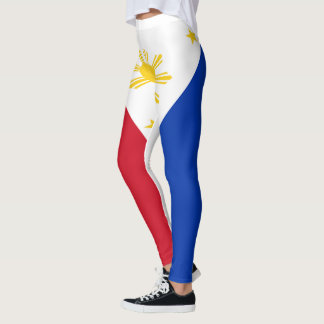Philippines Flag full Leggings