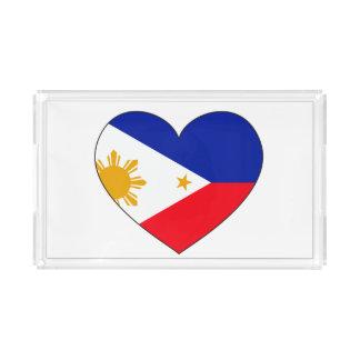 Philippines Flag Heart