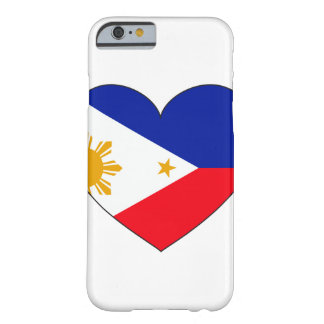 Philippines Flag Heart Barely There iPhone 6 Case