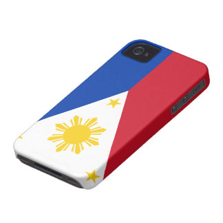 Philippines Flag iPhone 4 Cases