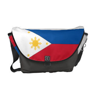 Philippines Flag Messenger Bag