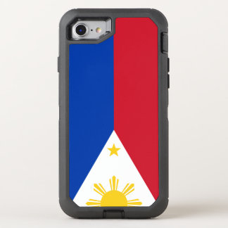 Philippines Flag OtterBox Defender iPhone 8/7 Case