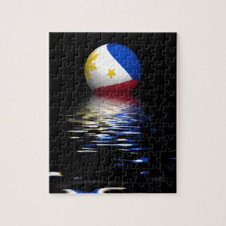 Philippines Flag rising/setting. Jigsaw Puzzle
