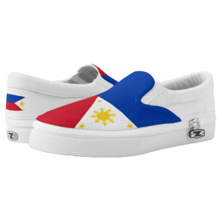 Philippines Flag Slip-On Shoes
