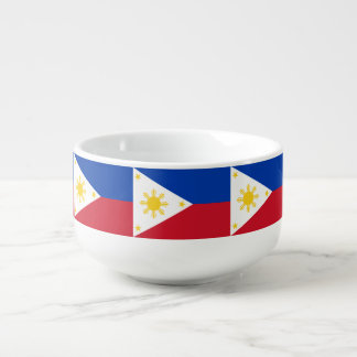 Philippines Flag Soup Mug