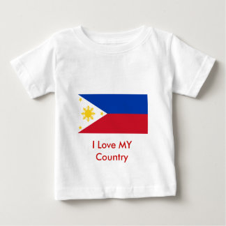 Philippines Flag The MUSEUM Zazzle Baby T-Shirt