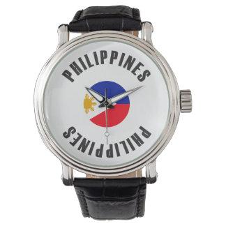 Philippines Flag Wheel Watch
