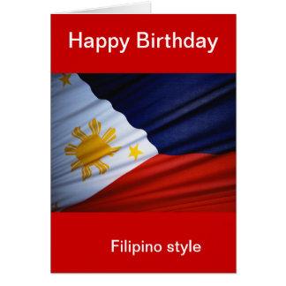 philippines happy birthday card