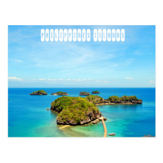 Philippines Islands Postcard