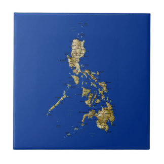 Philippines Map Tile
