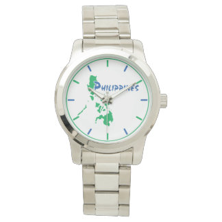 Philippines Map Wristwatch
