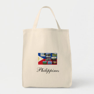 Philippines - Organic Grocery Tote Bag