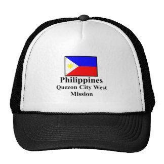 Philippines Quezon City West Mission Hat