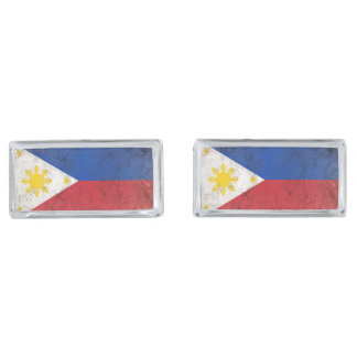 Philippines Silver Finish Cufflinks