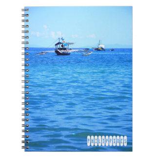Philippines Spiral Notebook