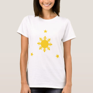 Philippines Sun & Stars by AiReal Apparel T-Shirt